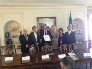 Pontoniere, Marinucci, de Magistris, Torresi, Antoniucci and Battocchi